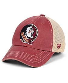 Top of the World Florida State Seminoles Wicker Mesh Snapback Cap