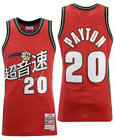 Mitchell & Ness Men's Gary Payton Seattle SuperSonics Chinese New Year Swingman Jersey