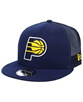 sale retailer 0f5a9 26f79 New Era Indiana Pacers Nothing But Net 9FIFTY Snapback Cap