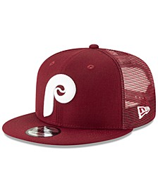 Philadelphia Phillies Coop All Day Mesh Back 9FIFTY Snapback Cap