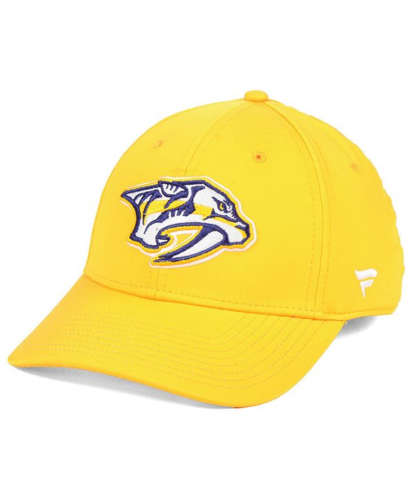Authentic NHL Headwear Nashville Predators Basic Flex Stretch Fitted Cap