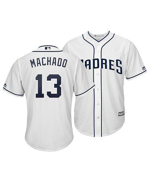 ecd9b94f4c6 ... Majestic Men s Manny Machado San Diego Padres Player Replica Cool Base  Jersey ...