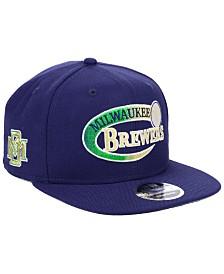 New Era Milwaukee Brewers Swoop 9FIFTY Snapback Cap
