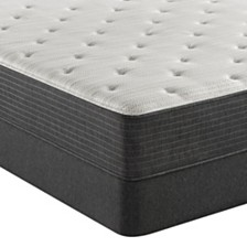 "Beautyrest Silver BRS900-TSS 12"" Plush Mattress Set - Queen Split, Created For Macy's"