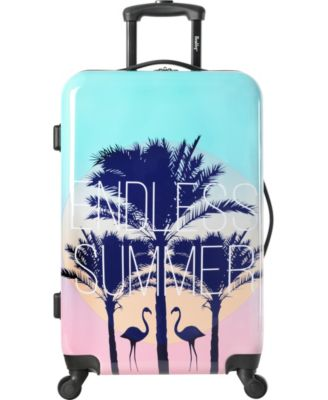 "Live It Up 24"" Hardside Spinner Suitcase"