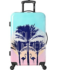 "Live It Up 24"" Hardside Spinner Suitcase"