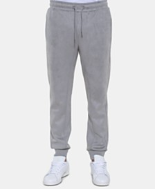 Sean John Men's Faux Suede Space Joggers