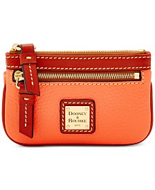 Dooney & Bourke Pebble Leather Coin Case