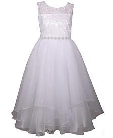 Bonnie Jean Organza Petal Communion Dress
