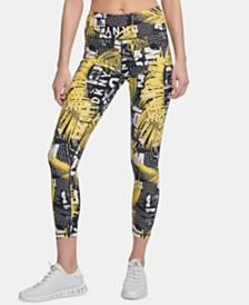 DKNY Sport Printed High-Waist Leggings, Created for Macy's