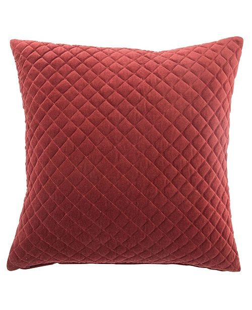 Jaipur Living Posh Red Solid Down Throw Pillow 22""