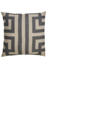 Nikki Chu By Ordella Geometric Down Throw Pillow 22""