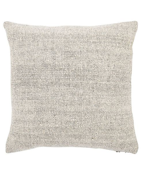 Jaipur Living Tweedy Berry Solid Poly Throw Pillow