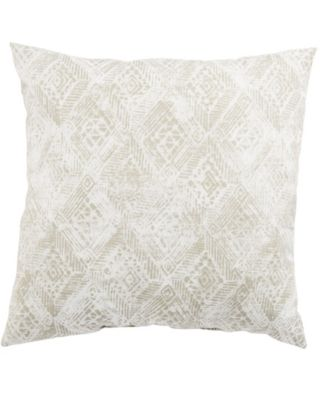 """Darrow Fresco Ikat Indoor/ Outdoor Throw Pillow 18"""""""