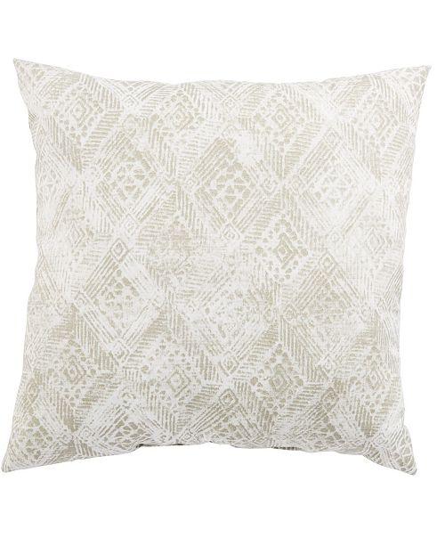 "Jaipur Living Darrow Fresco Ikat Indoor/ Outdoor Throw Pillow 18"""