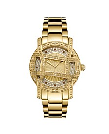 10 YR Anniversary Women's Olympia Diamond (1/5 ct.t.w.) 18K Gold Plated  Watch
