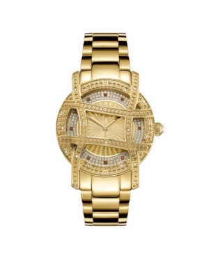 10 Yr Anniversary Women's Olympia Diamond (1/5 ct.t.w.) 18K Gold Plated Watch