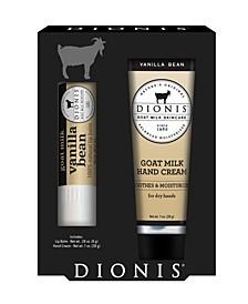 Vanilla Bean Hand Cream and Lip Balm Gift Set