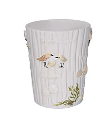 Bird Haven Wastebasket
