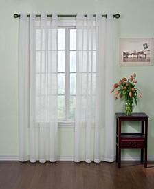 "Curtainfresh Grommet Voile 59"" x 84""  Panel"
