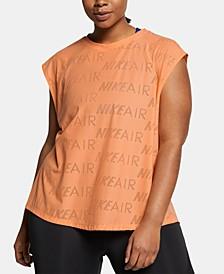 Plus Size Air Logo-Print T-Shirt