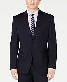 Lauren Ralph Lauren Men's Slim-Fit UltraFlex Stretch Navy Solid Suit Jacket
