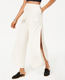 Free People She's A Dime Split-Leg Drawstring Pants