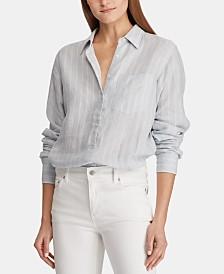 Lauren Ralph Lauren Relaxed Fit Linen Shirt