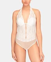 0f914a843ec872 b.tempt d Women s Ciao Bella Lace Halter Bodysuit 936144. Quickview. 2  colors