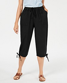 Dahlia Solid Capri Pants, Created for Macy's