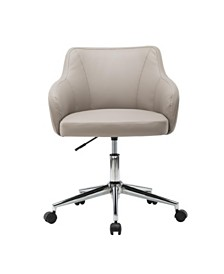 Techni Mobili Comfy and Classy Home Office Chair, Quick Ship