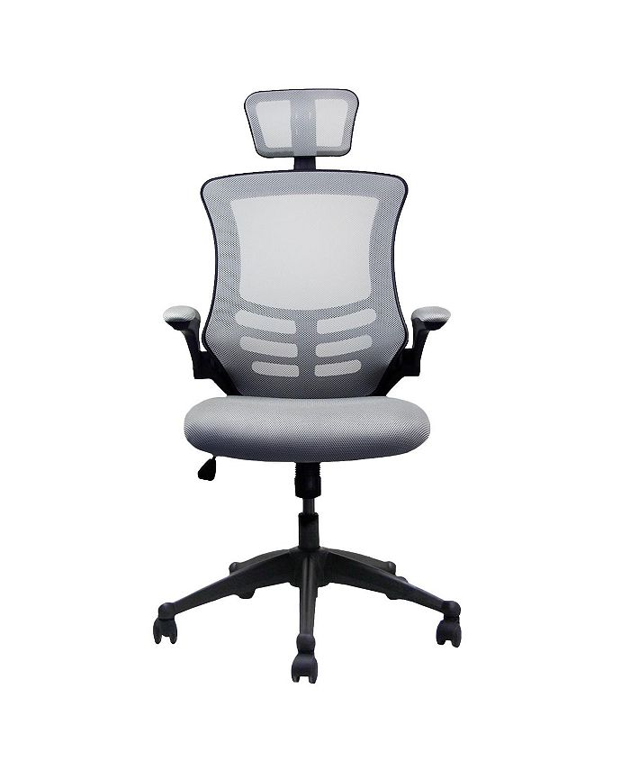 RTA Products - Techni Mobili Modern High-Back Mesh Executive Office Chair, Quick Ship