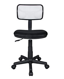 Techni Mobili Mesh Task Office Chair, Quick Ship