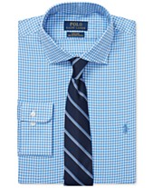 92bfdf4f Polo Ralph Lauren Men's Gingham Cotton Dress Shirt