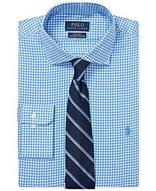 Polo Ralph Lauren Men's Gingham Cotton Dress Shirt