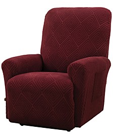 Shapely Diamond Slipcover Recliner