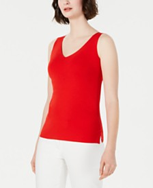 Anne Klein V-Neck Top