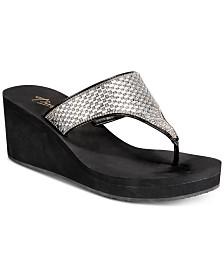 Thalia Sodi Elenia Wedge Flip-Flop Sandals, Created for Macy's