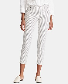 Lauren Ralph Lauren Striped Skinny Pants