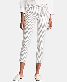 Lauren Ralph Lauren Striped Skinny Pants