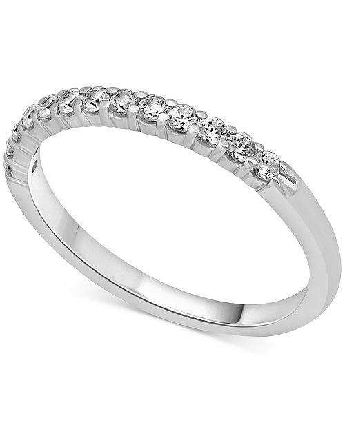 Macy's Diamond Band (1/4 to 2 ct. t.w.) in 14k Yellow Gold, Rose Gold or White Gold