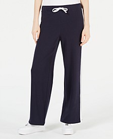 Side-Stripe Drawstring Track Pants