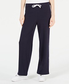 Juicy Couture Side-Stripe Drawstring Track Pants