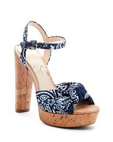 Jessica Simpson Ivrey Knot Platform Sandals