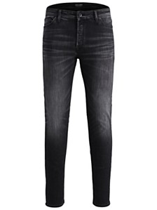 Jack & Jones Men's Slim Fit Black Washed Style Tim Jeans