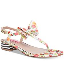 Betsey Johnson Austen Flat Sandals