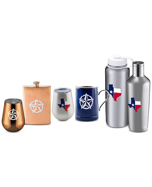 Thirstystone Texas Barware Collection