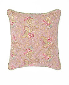"Nostalgia Home Eve 16"" Square Printed Decorative Pillow"