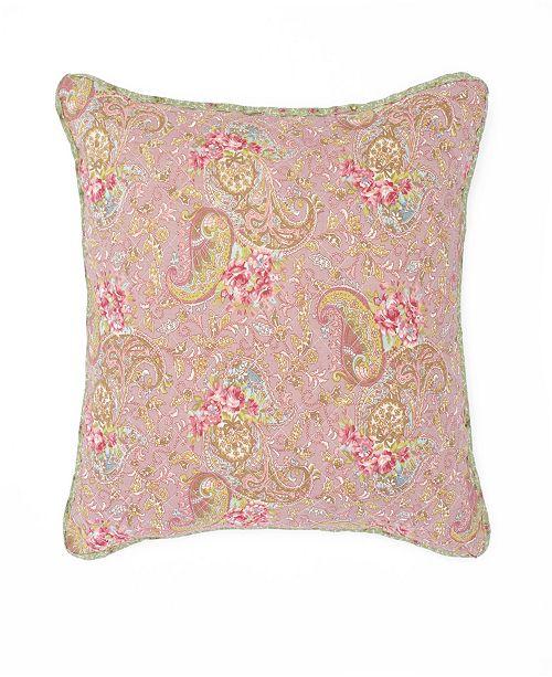 "WestPoint Home Nostalgia Home Eve 16"" Square Printed Decorative Pillow"
