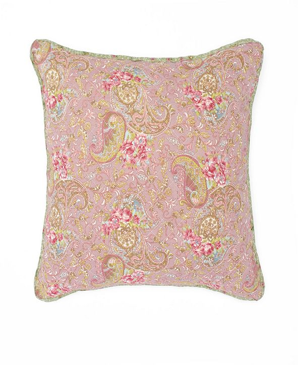 "WestPoint Home Nostalgia Home Eve 16"" Square Printed Decorative Pillow"
